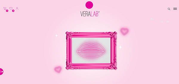 home page sito vera lab